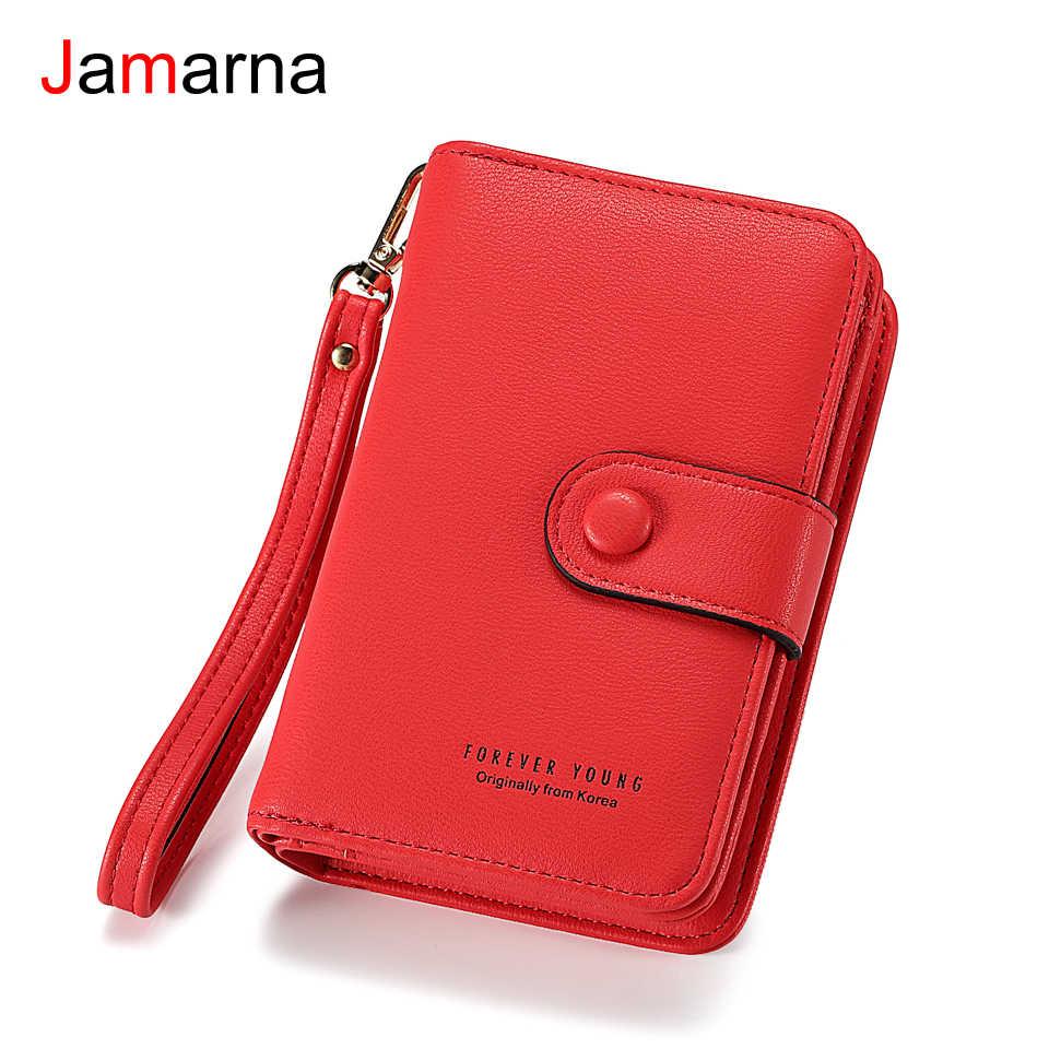 65d46fb4a298 Кошелек jamarna Женский PU Кожаный клатч кошелек на молнии маленький кошелек  женский кошелек для монет женские