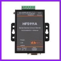 HF5111A 1 Port RJ45 RS232 485 422 Serial Port To Ethernet Linux Serial Port Server