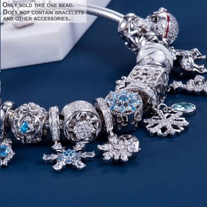 Image 3 - Video! Christmas Bells Genuine 925 Sterling Silver Charm Beads Fit Original Bracelet Necklace Authentic Jewelry DDBJ110