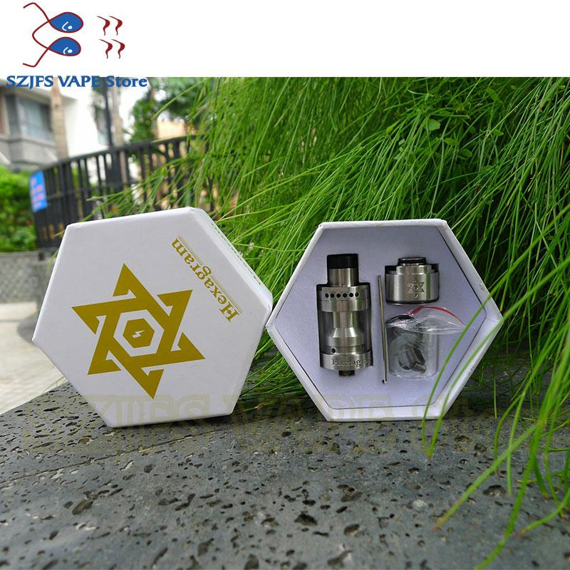 THC Tauren RTA 2.5ml capacité 304ss réservoir de pulvérisation pour Cigarette électronique Mod narguilé Vape atomiseur vs Zeus double RTA mort rabbin