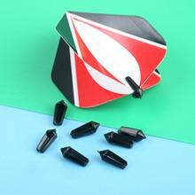 8 Pcs/lot Nylon Dart Flight Savers Wing Tail Protectors For Steel & Soft Tip Darts Flight Darts Accessories Dardos Replacements