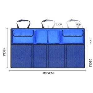 Image 5 - Auto Organizer Kofferbak Achterbank Universele Opbergtas Mesh Netto Pocket Bag 4 Kleuren