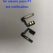 Для xiaomi mi F1 pocophone F1 poco F1 отпечатков пальцев гибкий кабель светодиодное уведомление шлейф F1 светодиодный экран