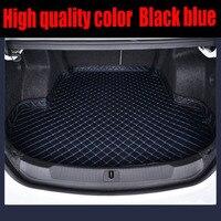 خاص سيارة جذع الحصير مصنوعة لتويوتا هايلاندر لاند كروزر 200 5D كامل غطاء سيارة التصميم سجاد السجاد حالة بطانات