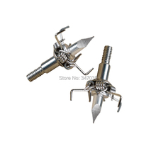 New 6 pieces Archery Target Broadhead Hunting Small Animal Game Judo Arrow Point Free Shipping