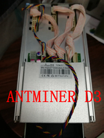 New DASH MINER ANTMINER D3 17GH S 1200W With Power Supply BITMAIN X11 Dash Mining Machine
