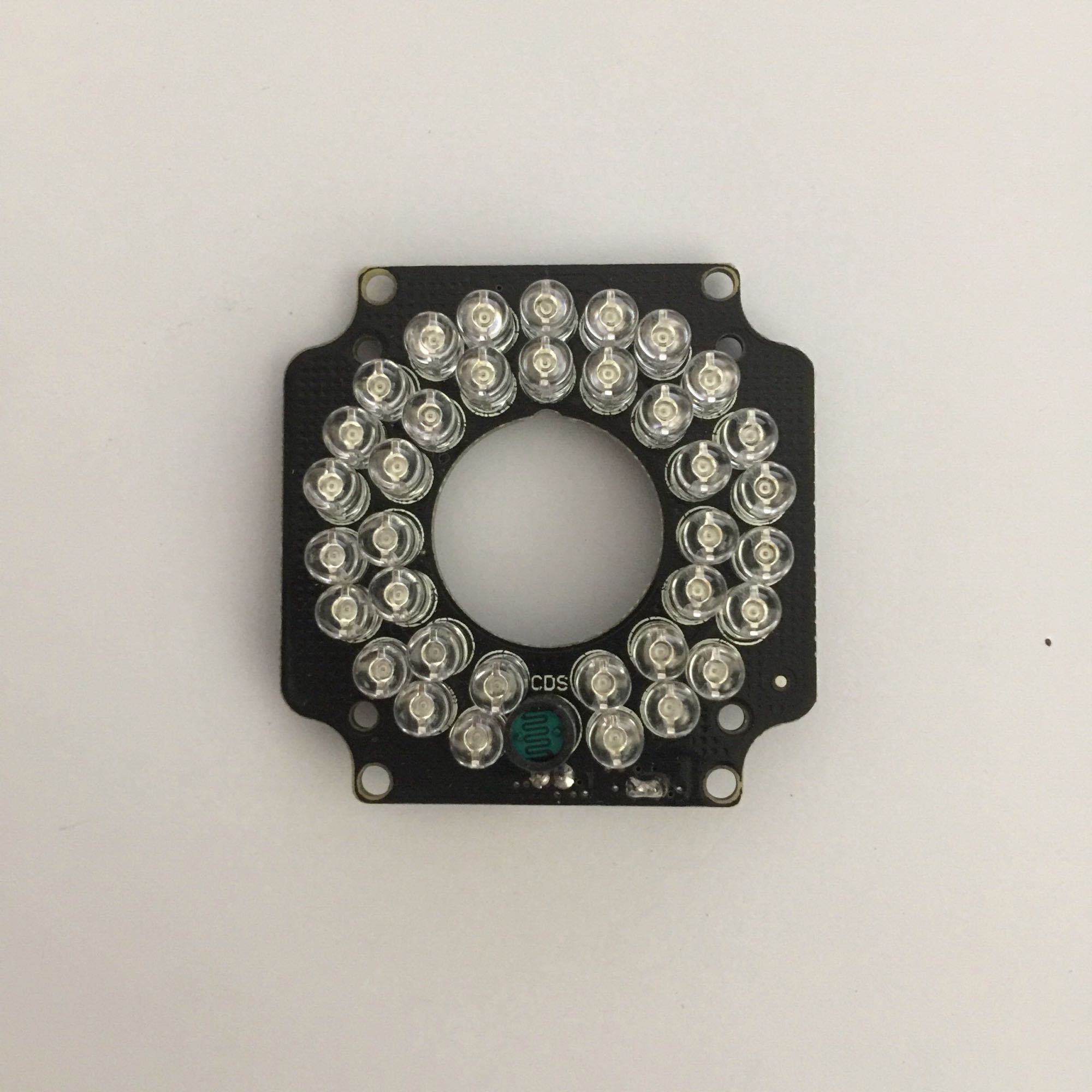 CCTV camera fill light IR LED Light board 36pcs infrared 850nm LED For Security Camera 3.6mm Lens IR Camera with IRC цена