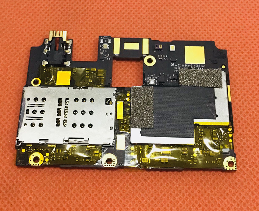 Used Original mainboard 3G RAM+32G ROM Motherboard for DOOGEE F7 MTK6797 Deca Core FHD 1920x1080 Free shipping