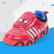 2017 New Autumn Breathable Spiderman Kids Fashion Sneakers Child Breathable Student Girls Sports Casual Shoes for boys