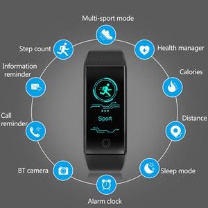 Image 2 - Smart Bracelet IP68 Waterproof Smartband Heart Rate Sleep Monitor Sports Passometer Fitness Tracker Bluetooth Smartwatch Relogio