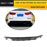 Carbon Fiber Rear Bumper Lip Diffuser for KIA Optima K5 2014 2015