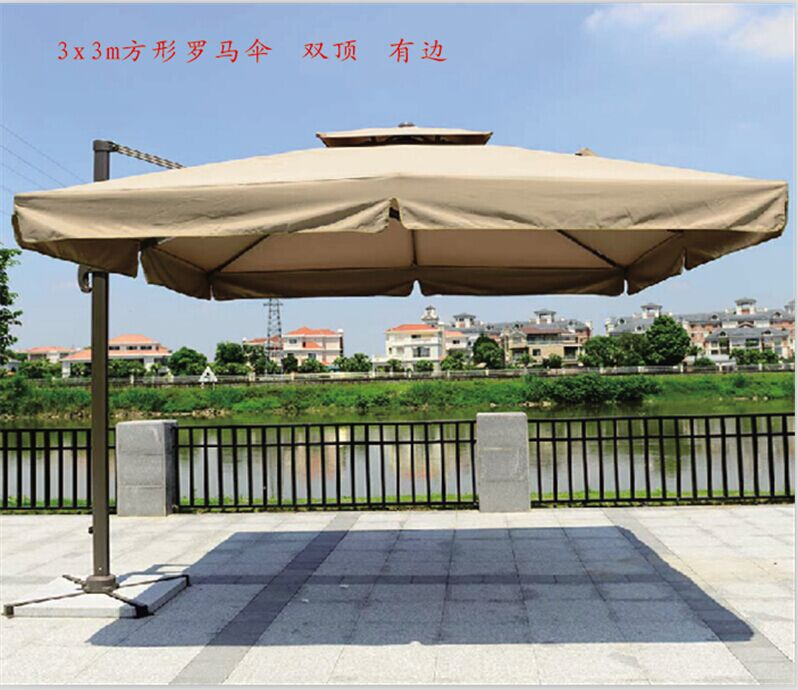 Rome Umbrella Umbrellas Rotatable Awning Canopy Outdoor Patio 3 Meters Large In Bases From Furniture On Aliexpress