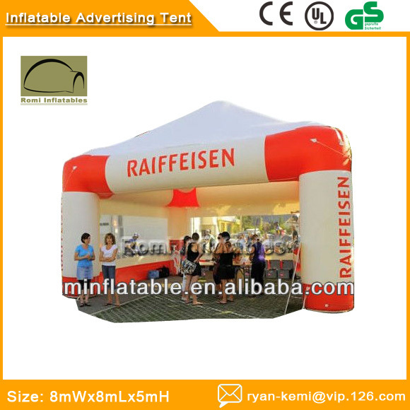 цены на  Inflatable advertising tent with curtains Inflatable promotional tent Inflatable trade show tent inflatable air tent