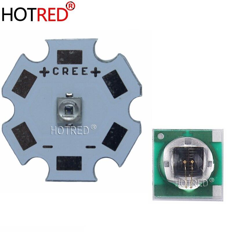 10 Piezas 3w 850nm Infrarrojo Ir Led para cámara de visión nocturna con 20mm Star Pcb