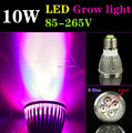 5pcs/lot E27 10W 3Red:2Blue LED Grow Light Lamp For Flowering Plant And Hydroponics------Limited Time Offer