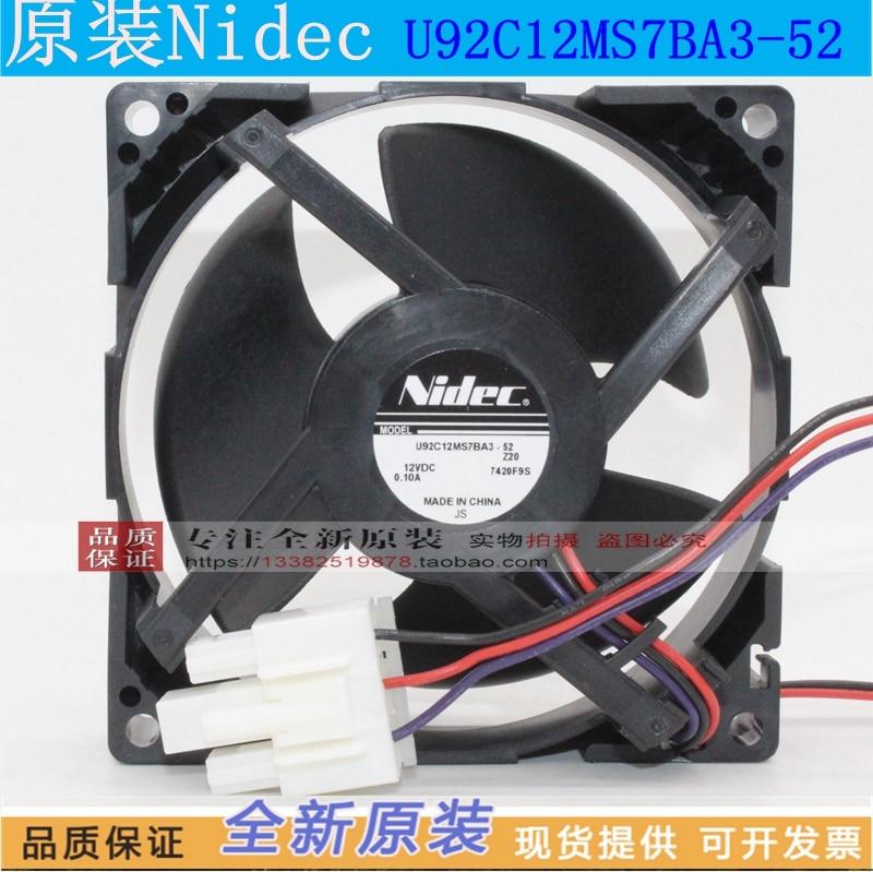 NEW NIDEC U92C12MS7BA3-52 9CM cooling fanNEW NIDEC U92C12MS7BA3-52 9CM cooling fan