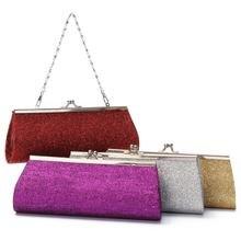 Women Party-Evening Gliter Clutch Bag For Wedding & Parties