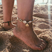 2019 new popular jewelry explosions conch shell anklet female Anklets For Women Jewelry