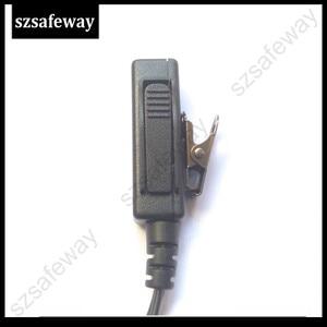 Image 3 - 5PCS/LOT Two Way Radio Earphone Walkie Taklie Headset For Hytera PD505 TC 700 TC 610 TC 620 TC 518 TC 580 TC 446S TC 508