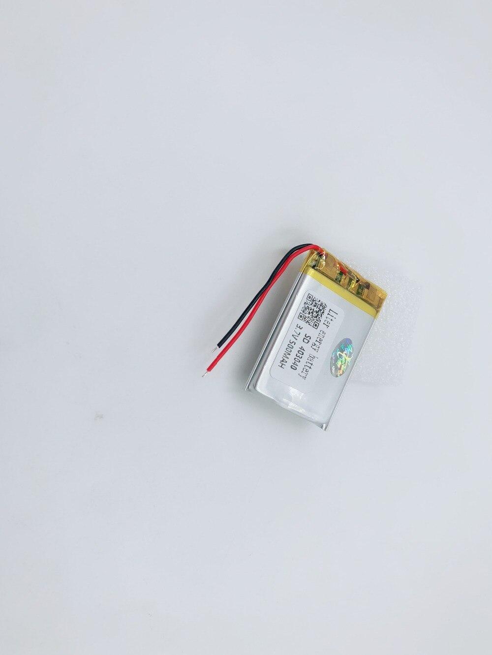 Batterien Initiative Polymer Lithium-ionen Batterie 3,7 V 500 Mah 403040 Liter Energie Batterie Ce Fcc Rohs Msds Qualität Zertifizierung