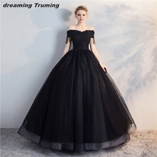 Buy black ball gown dress and get free shipping on AliExpress.com c0c381f46d2e