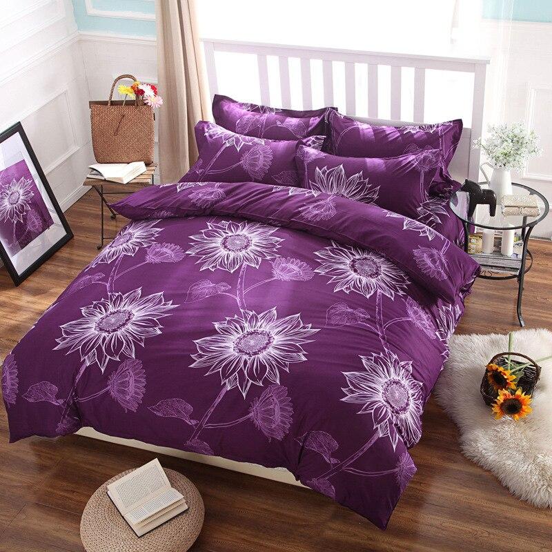 Best Dorm Room Bedding Linen Purple Duvet Covers Queen