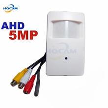 HQCAM AHD 5MP Audio Mini AHD Camera 1/2.9″ CMOS FH8538M+IMX326 PIR AHD Camera Surveillance Indoor Camera 2560×2048 support MIC