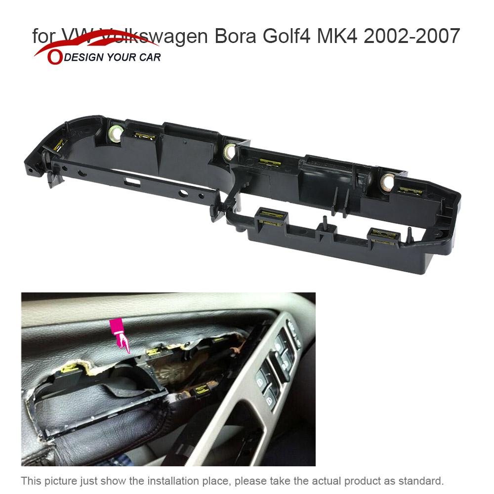 Car Interior Front Left Door Grab Handle Cover Trim Panel Bracket For Vw Volkswagen Bora Golf4