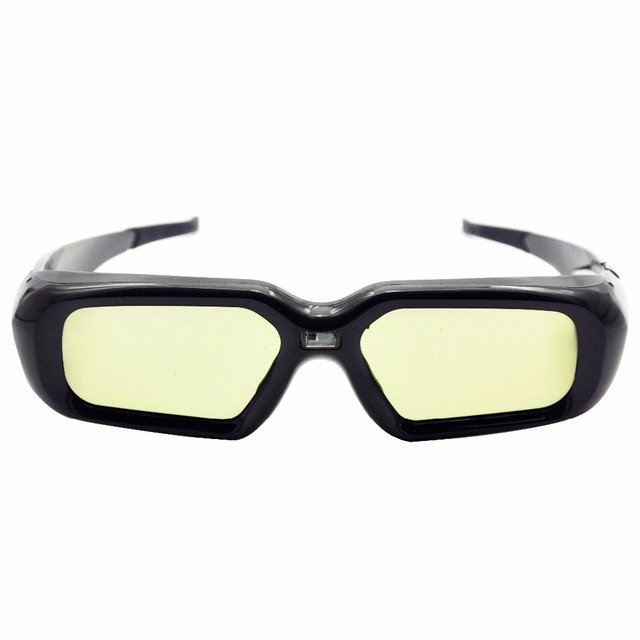 Active 3D Shutter Glasses V2 Rechargeable for DLP Link Projector Mitsubishi Samsung Acer BenQ Optoma Dell Vivitek NEC Sharp