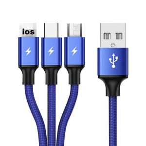 3 In 1 Type C Micro USB Multi