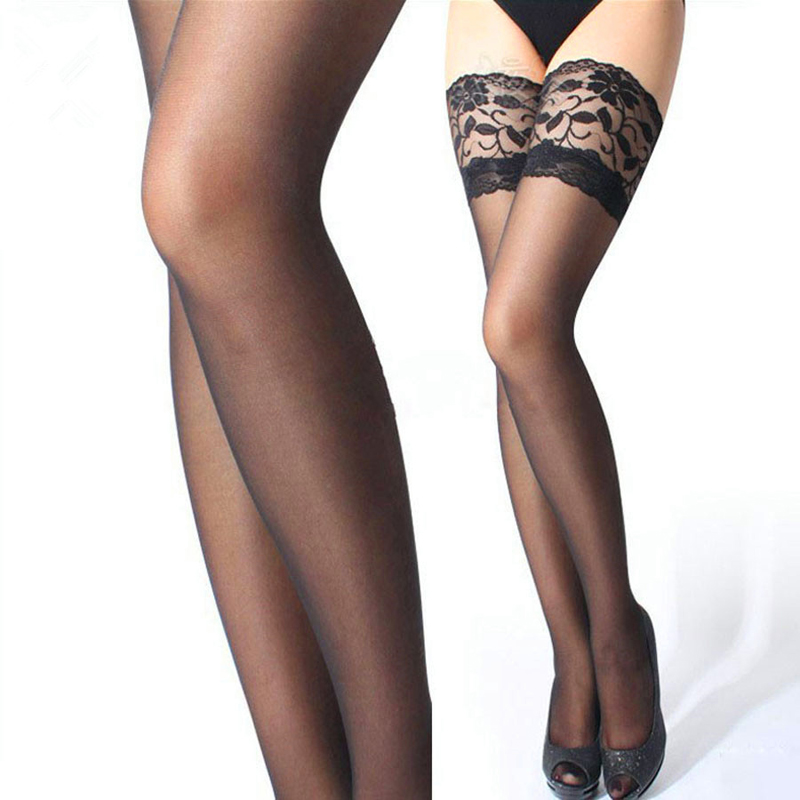 We carry decadent thigh high stockings from top designer brands like Wolford, Donna Karan Hosiery, Calvin Klein, Falke and more. Thigh highs are a sophisticated addition to any look and the styles trimmed in lace or tinged with shimmer are extra special.