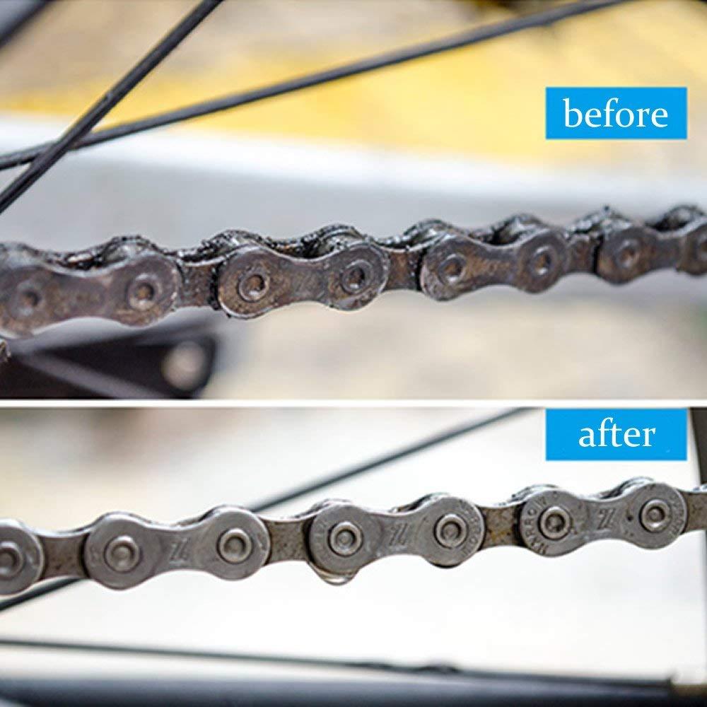 Купить с кэшбэком Bicycle Chain Cleaner Portable Mountain Bike Clean Machine Brushes MTB Road Bike Cycling Cleaning Kit Outdoor Sports Wash Tools