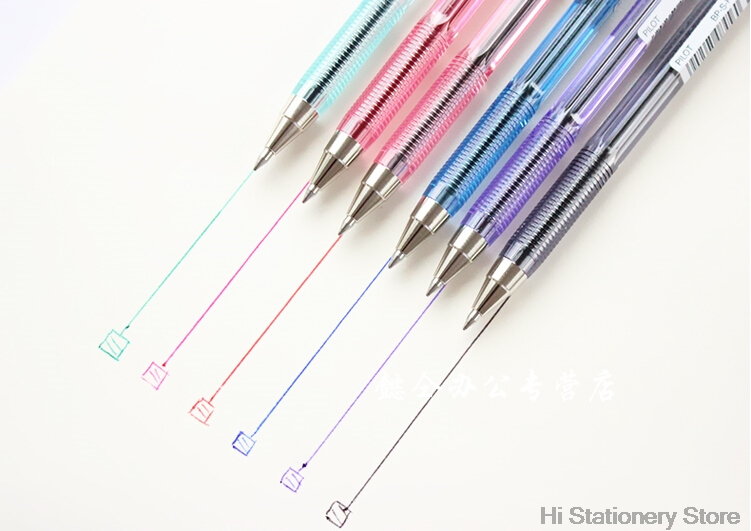 Pilot BP-S-F 0.7mm fine Ball Point Pen black/blue/red/green/purple/pink Color pilot dr grip pure white retractable ball point pen