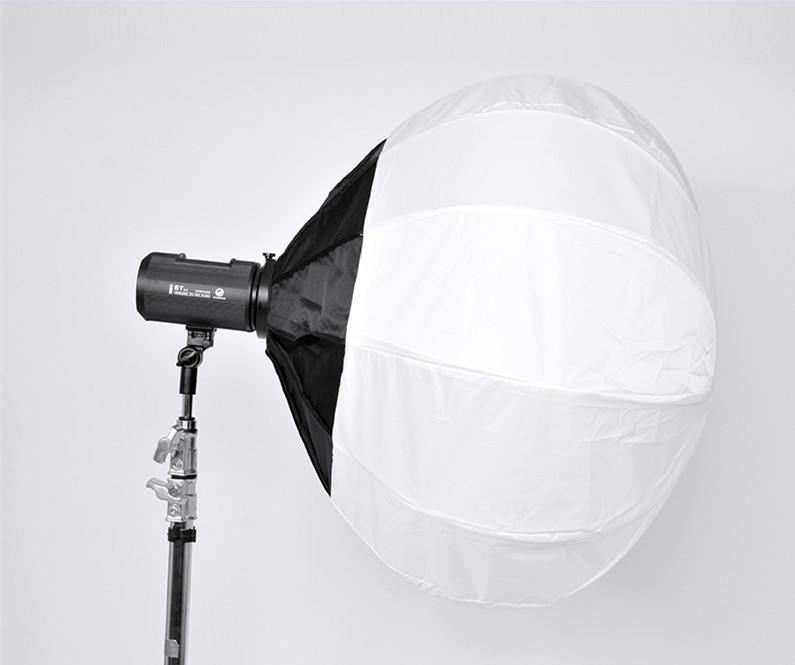 Studio Spherical Softbox Diffuser Mount for Speedlite FlashCD50