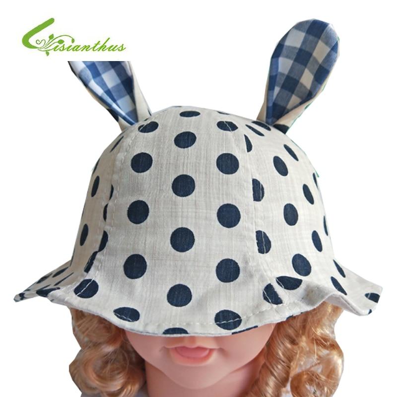 Primavera Verano bebé sombrero niño tapa Niñas punto impreso CAPS ...
