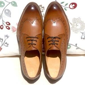 Image 5 - Yinzo נשים של דירות אוקספורד אביב נעלי אישה עור אמיתי סניקרס גבירותיי נעלי בציר נעליים יומיומיות נעלי לנשים 2020