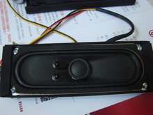 2pcs 6Ohm10W neodymium magnetic ultra – thin speaker LCD TV original tape basin full band good voice