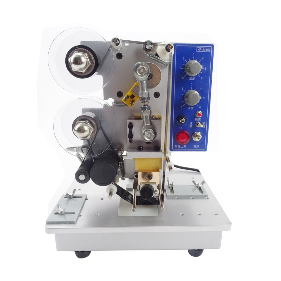 Imprimante électrique ruban Date codeur Semi automatique sac en plastique impression et codage marquage à chaud Machine HP-241B