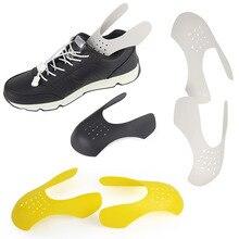 1 Pair Practical Shaper Anti Crease Toe Cap Support Universal Sneaker Shield Keeping Bending Crack Protector Shoe Stretcher