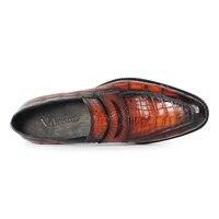 Alligator Slip-On Shoes 4
