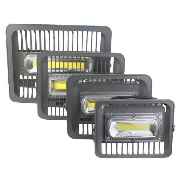 Мощный светодиодный прожектор 30 Вт 50 Вт 100 Вт 150 Вт AC110V 220 V Светодиодный прожектор IP66 Водонепроницаемый энергосберегающая лампа для проектор...