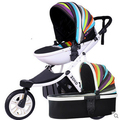 Forma de ovo frete grátis projeto original do bebê carrinho de bebê dobrável carro two-way amortecedores carrinho de criança triciclo carrinho de bebê