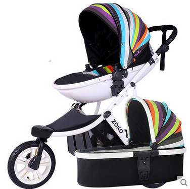 Free shipping egg shape unique design baby stroller baby car folding