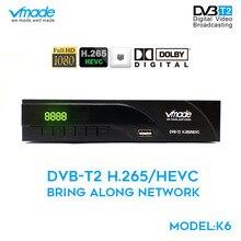 Vmade 풀 hd 1080p dvb t2 디지털 지상파 신호 수신기 dvb t2 8943 h. 265 지원 youtube dolby ac3 mpeg 2/4 셋톱 박스
