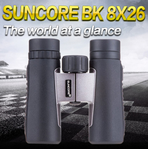 BK 8X26 biocular telescope Optical outdoor hunting HD Binoculars with Nitrogen waterproof optical telescope микрофонная стойка quik lok a344 bk