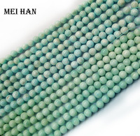 Free Shipping 38 Beads Set 60g Natural Dominician Republic 10 10 5mm Larimar Loose Beads Stone