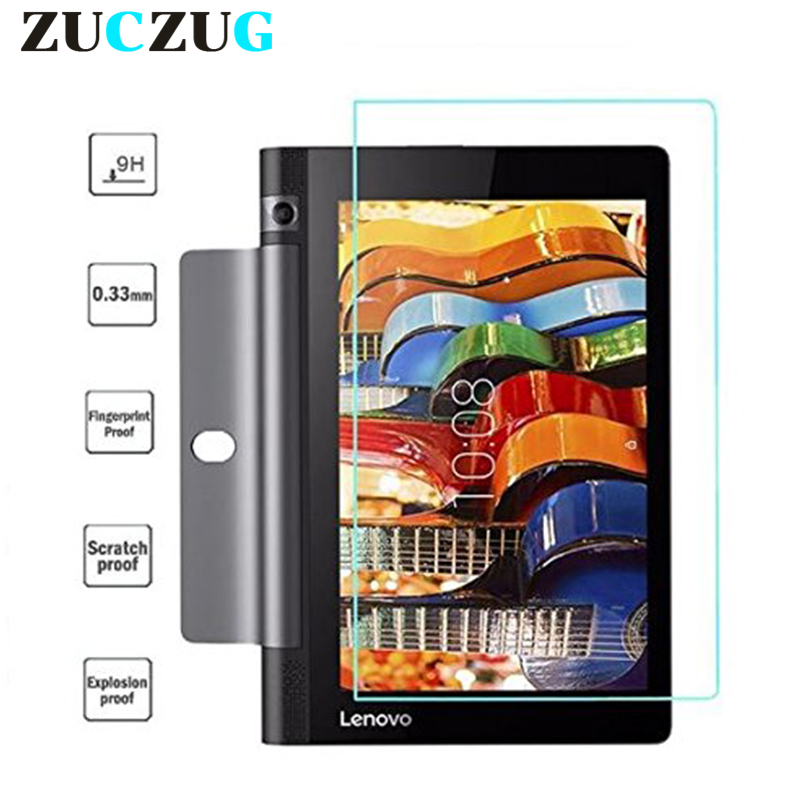 """Йога Tab3 8 850 Загартоване скло для Lenovo Yoga Tab 3 8.0 850F 850L 850M Протектор екрану Стекло для Lenovo Tab3 8 """"Захисна плівка"""