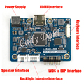 2 K HDMI Señal LVDS a EDP Tarjeta Controladora para Raspberry PI 3 1920x1080 Señal de EDP 2 Lanes 30 Pines LCD Panel de la Pantalla