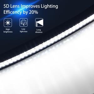 Image 5 - 5D 22 32 42 52 inç kavisli LED ışık çubuğu 12V 24V Combo işın Offroad tekne araba kamyon ATV SUV 4WD 4x4 çalışma LED lamba