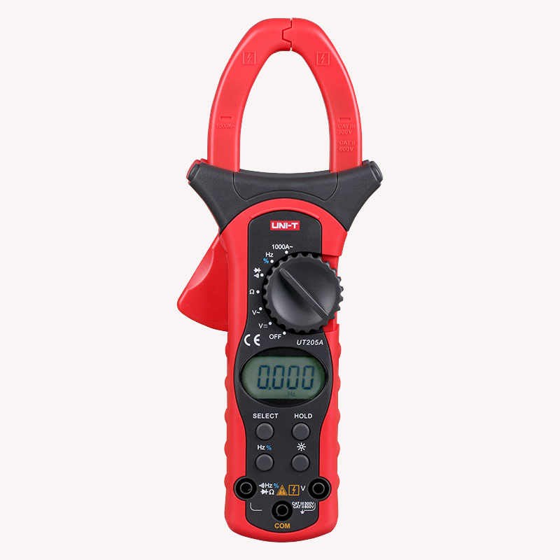 UNI-T UT205A Auto Range 1000A LCD Backlight Digital Clamp Multitester w/ Frequency Duty Cycle Test Multimeter